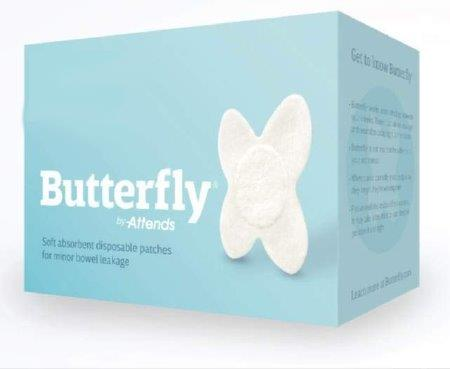 Attends Butterfly Body Patches, S/M, Bulk 4844983