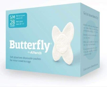 Attends Butterfly Body Patches, S/M 4844985