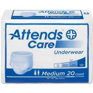 "Attends Care Underwear, Moderate-Heavy Absorbency, Medium, 34"" - 44"" 48APV20100"