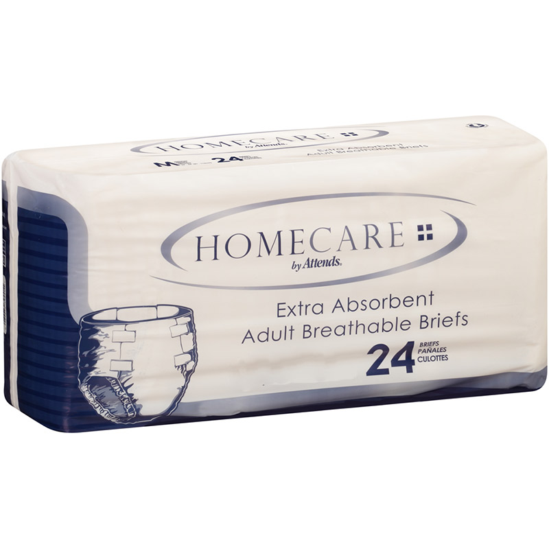 "Attends Homecare Breathable Brief Medium 32"""" - 44"""" 48BRHC20"