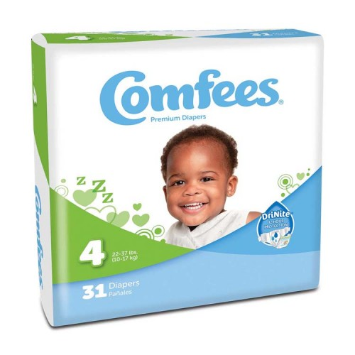 Comfees Baby Diapers - Size 4 48CMF4