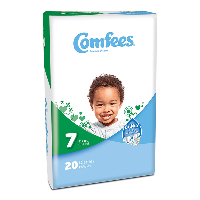 Comfees Baby Diapers - Size 7 48CMF7