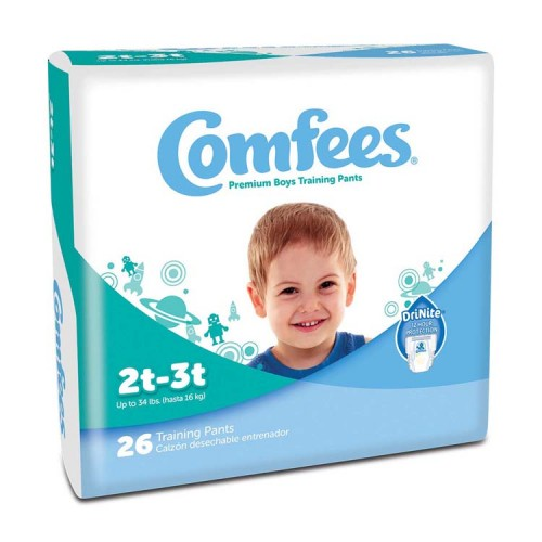 Comfees Boy Training Pants - Size 2T-3T 48CMFB2