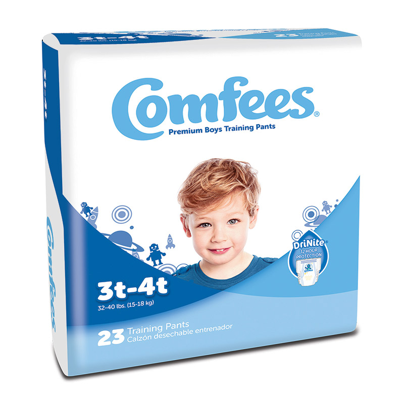 Comfees Boy Training Pants - Size 3T-4T 48CMFB3