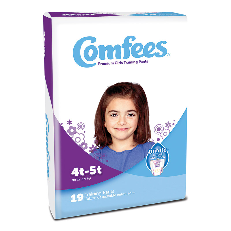 Comfees Girl Training Pants - Size 4T-5T 48CMFG4