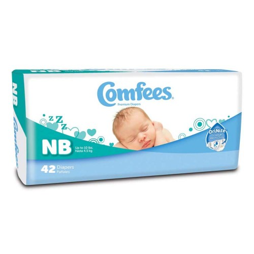 Comfees Baby Diapers - Newborn 48CMFN