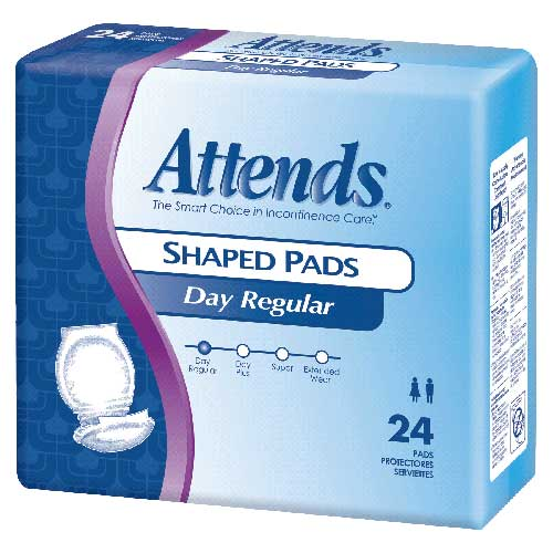"Attends Day Plus Shaped Pad 24-1/2"""" 48SPDP"