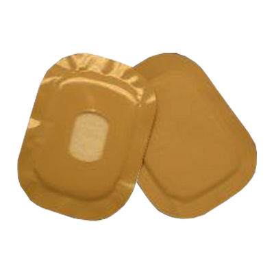 "Ampatch Style 3/4"""" x 1-1/4"""" Opening Center Hole, Rectangular 49838234000301"