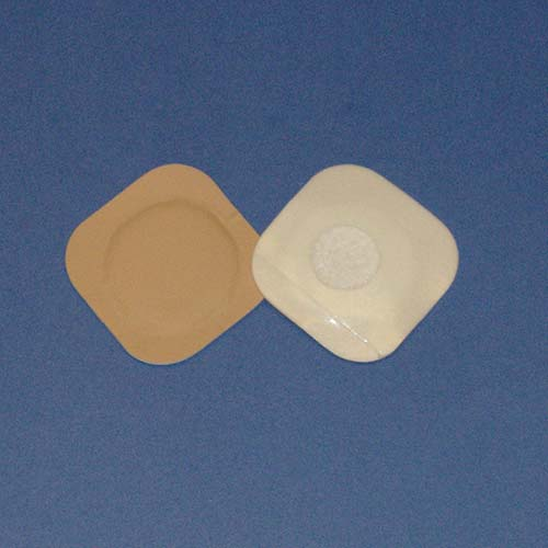 """Austin Medical Products AMPatch Style F-4 Stoma Cover 2-1/4"""" x 2-1/4"""" 7/8"""" Round Center Hole 49838234001322"""