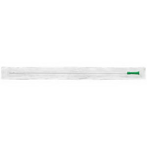 "Apogee Soft Straight Intermittent Catheter 14 Fr 16"""", Curved Packaging 501074A"