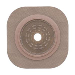 """New Image 2-Piece Cut-to-Fit Flat FlexWear (Standard Wear) Skin Barrier 1-1/4"""""""" Opening, 1-3/4"""""""" Flange Size 5014202"""