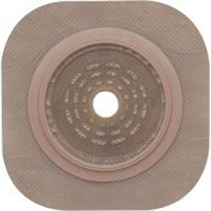 "New Image 2-Piece Cut-to-Fit Flat FlexWear (Standard Wear) Skin Barrier 1-3/4"""" Opening, 2-1/4"""" Flange Size 5014203"
