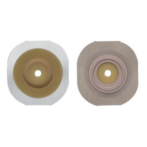 "New Image 2-Piece Cut-to-Fit Convex Flextend (Extended Wear) Skin Barrier 1-1/2"""" 5014803"