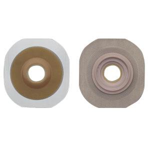 "Hollister New Image® Flextend® 5/8"" Pre-Cut Convex Skin Barrier, 1-3/4"" Flange, Tape Border, Green 5014901"