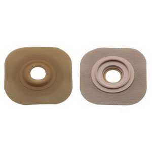 "Hollister New Image® Flextend® 1-1/8"" Pre-Cut, Convex Skin Barrier, 2-1/4"" Flange, Red 5015905"