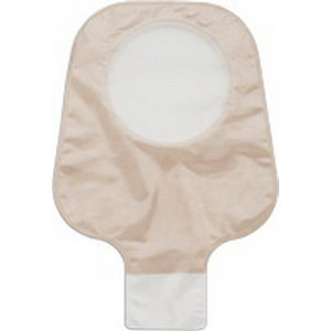 """New Image 2-Piece Drainable Pouch 2-3/4"""""""", Clamp Closure, Ultra Clear 5018174"""