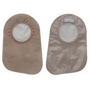 "New Image 2-Piece Closed-End Pouch 2-1/4"""", Transparent 5018363"