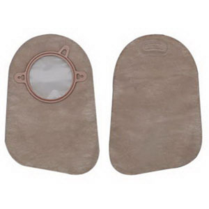 "New Image 2-Piece Closed-End Pouch 2-3/4"""", Beige 5018374"