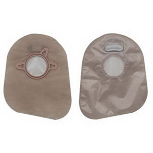 "New Image 2-Piece Closed-End Pouch 2-1/4"""", Transparent 5018383"