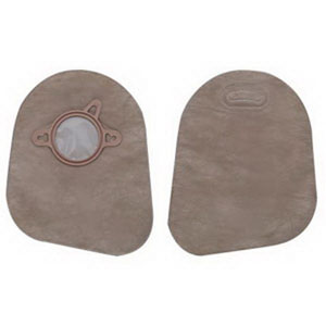 "New Image 2-Piece Closed-End Pouch 2-3/4"""", Beige 5018394"