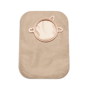 "New Image 2-Piece Closed-End Pouch 2-1/4"""", Beige 5018733"