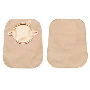 "New Image 2-Piece Mini Closed-End Pouch 2-1/4"""", Beige 5018753"