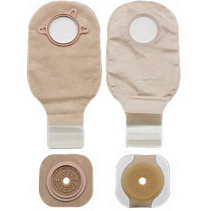 "New Image Two-piece Colostomy/Ileostomy Drainable Single-use Kit 2-1/4"", Lock N Roll 5019054"