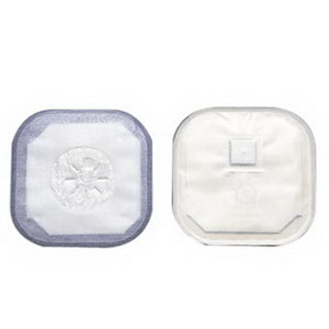 """Hollister Stoma Cap with Porous Cloth Tape Adhesive 3"""" Opening 4-1/4"""" Size, Filter, Transparent 503186"""