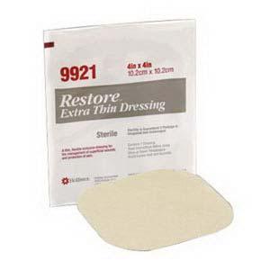 "Restore Extra Thin Hydrocolloid Dressing 4"" x 4"" 50519921"