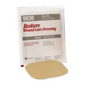 "Hollister Restore® Hydrocolloid Dressing with Foam Backing 8"" x 8"" 50519935"