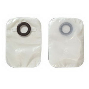 "1-Piece Closed-End Pouch Precut 2"""""""" with Karaya Seal 507164"