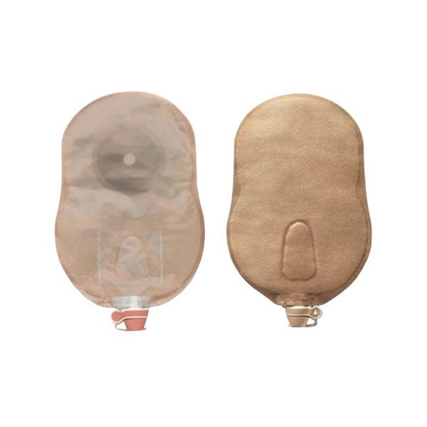 "Hollister Premier™ One-Piece Urostomy Pouch, Flat Flextend® Skin Barrier, 1-3/4"" Pre-Cut, Transparent 5084699"