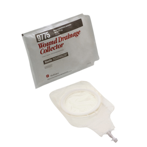 Hollister Wound Drainage Collector without Barrier, Medium, Translucent 509775
