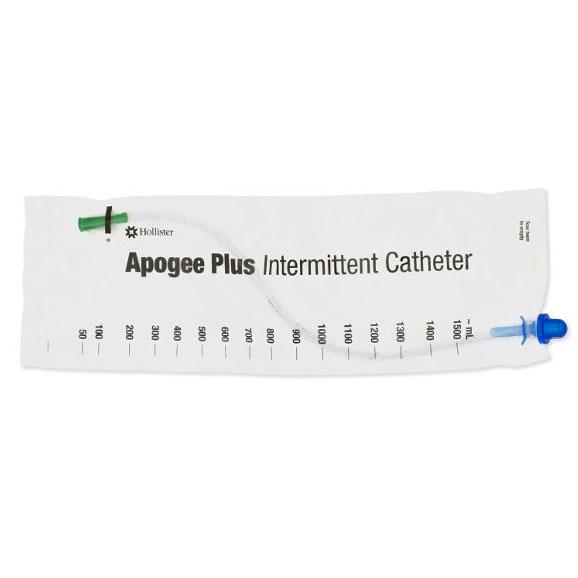 "Hollister Apogee Plus® Female Closed Intermittent Catheter, Pre-Lubricated, Straight Tip, 14Fr, 6"" 50B14FFEMALE"