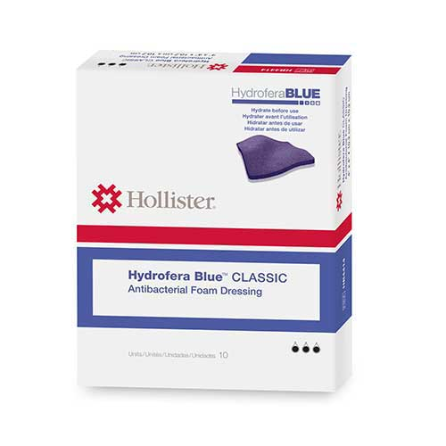 "Hydrofera Blue Foam Dressing without Border 6"""" x 6"""" 50HB6614"