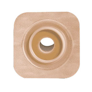 "Sur-fit Natura Stomahesive Flexible Pre-cut Wafer 4"""" x 4"""" Stoma 3/4"""" 51125269"
