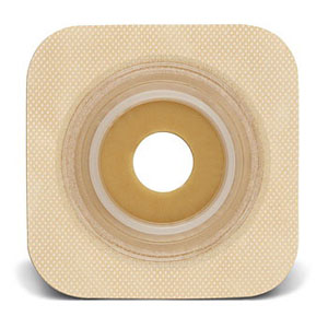 """Sur-fit Natura Stomahesive Flexible Pre-cut Wafer 4"""" x 4"""" Stoma 1-1/8"""" 51125272"""