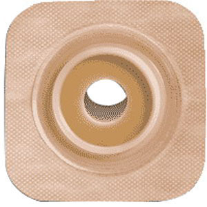 "Sur-fit Natura Stomahesive Flexible Pre-cut Wafer 4"""" x 4"""" Stoma 1-1/4"""" 51125273"