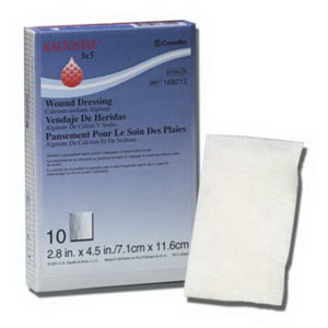 "KALTOSTAT Calcium Sodium Alginate Dressing 3"""" x 4-3/4"""" 51168212"