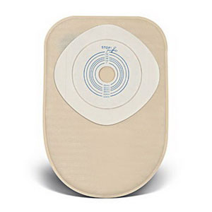 "ConvaTec ActiveLife® One-Piece Closed-End Pouch, Pre-Cut, 1"" Stoma Opening 51175769"