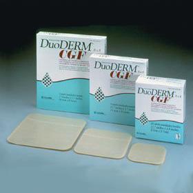 "ConvaTec DuoDERM® CGF® Extra Thin Dressing, 4"" x 4"" 51187955"
