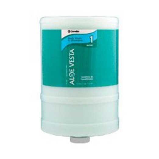 ConvaTec Aloe Vesta® Body Wash and Shampoo, No-Rinse 4L Bottle 51324611