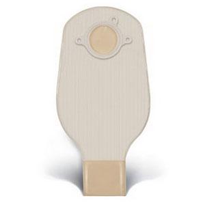 "ConvaTec SUR-FIT® Natura® Two-Piece Drainable Pouch, Mold-to-Fit, 1-1/2"" Flange, 12"" L, Opaque 51401501"
