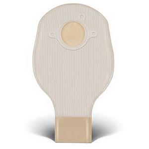 "ConvaTec SUR-FIT® Natura® Two-Piece Drainable Pouch, Mold-to-Fit, 2-3/4"" Flange, 10"" L, Opaque 51401509"