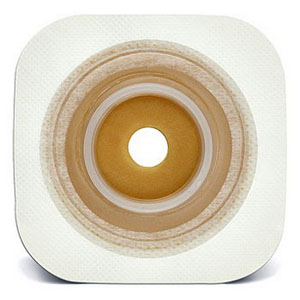 "ConvaTec Little Ones® Standard Flexible Skin Barrier, Up to 3/4"" Cut-to-Fit, 1-1/4"" Flange, Tape Collar 3"" x 3""  51401925"