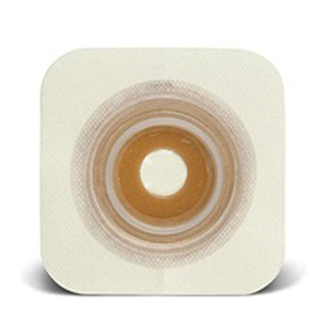 """ConvaTec SUR-FIT® Natura® Durahesive® Skin Barrier, 7/8"""" to 1-1/4"""" Mold-to-Fit, 1-3/4"""" Flange, Hydrocolloid Collar, White 51411802"""