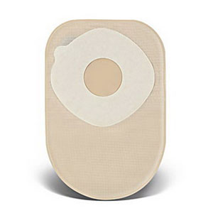 "ConvaTec ActiveLife® One-Piece Closed Pouch, 1-3/4"" Pre-Cut, 8"" L, Filter, Opaque 51413145"