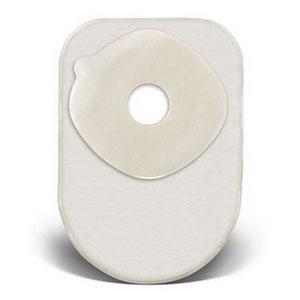 "ConvaTec ActiveLife® One-Piece Closed Pouch, 1-1/4"" Pre-Cut, 8"" L, Filter, Transparent 51413149"