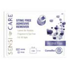 Sensi-Care Sting Free Adhesive Remover Wipe, Fragrance and Dye Free 51413500