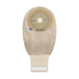 "ConvaTec Esteem® + One-Piece Drainable Pouch, 13/16"" to 2-3/4"" Cut-to-Fit, Integrated Closure, 12"" L, Transparent 51416721"